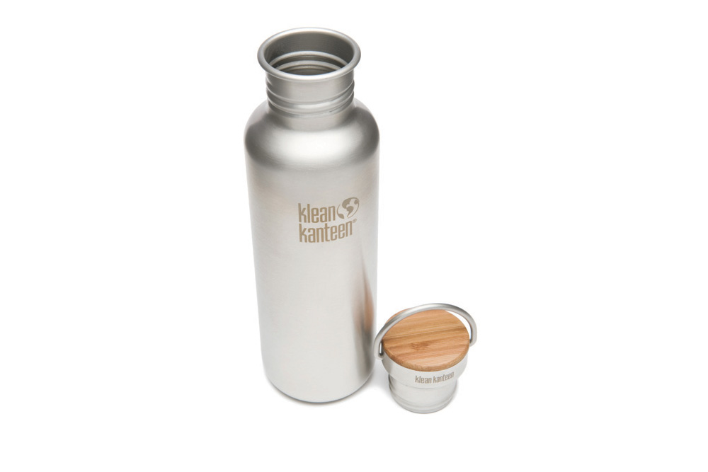Klean Kanteen Classic Brushed Stainless bottle