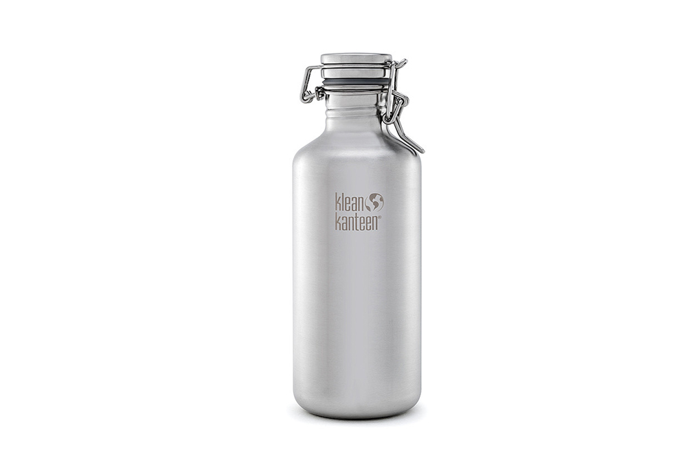 Klean Kanteen Growler Brushed Stainless bottle