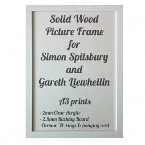 White Picture Frame for A3 prints