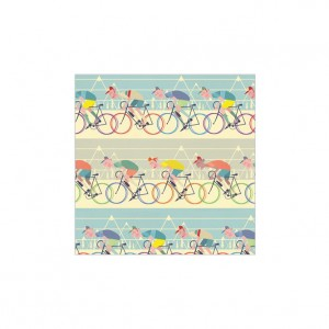 Cycle Race Wrapping Paper