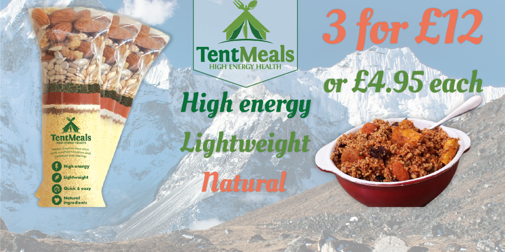 Tent Meals - High Energy camping meals