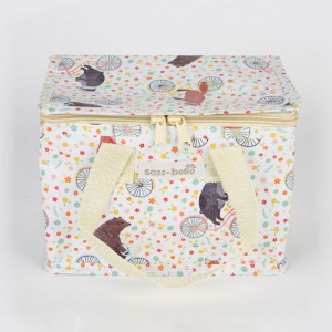 Happy Animals on Bicycles Lunch Bag