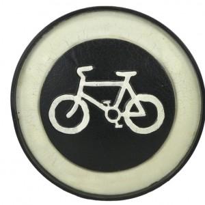 Black Velo Vintage Metal Bicycle Sign