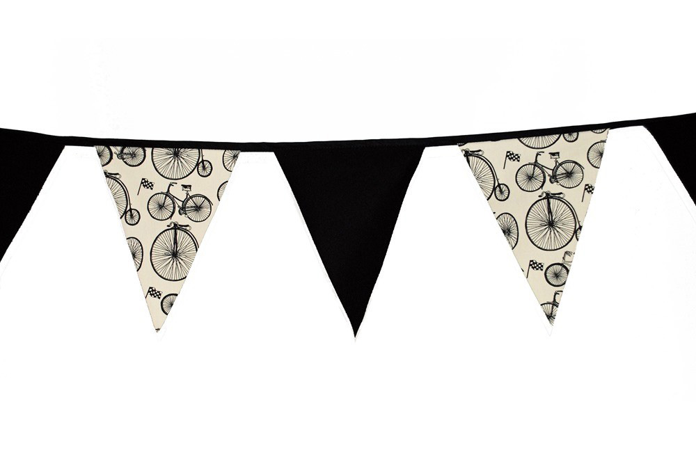 Belle Textiles Le Tour Bicycle Bunting