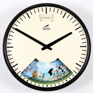 Bramwell Brown Cycling Weather Clock
