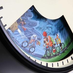 Bramwell Brown Cycling Weather Clock