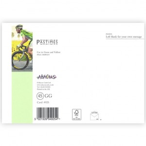 Mark Cavendish Bicycle Greeting Card