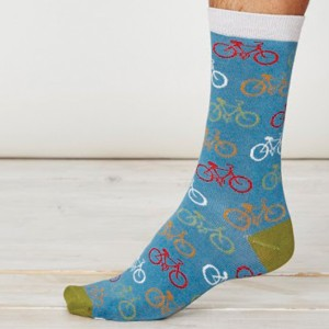 Men's Bamboo Bicycle Socks – Dusty Blue