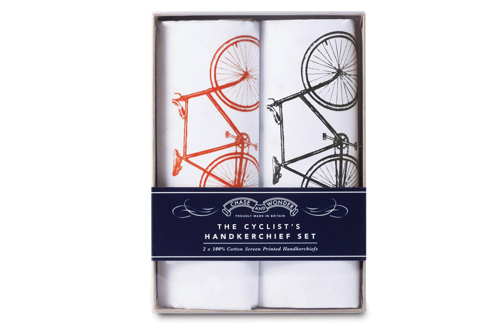 Chase and Wonder Bicycle Handkerchief Set