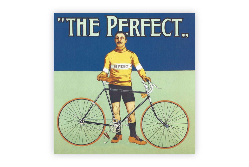 The Perfect Bicycle Greeting Card