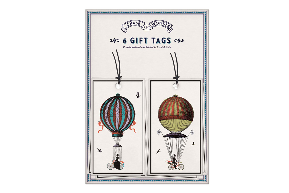 Chase and Wonder Ride Above It Gift Tags
