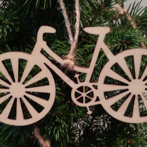 Wooden Bicycle Decorations | CycleMiles