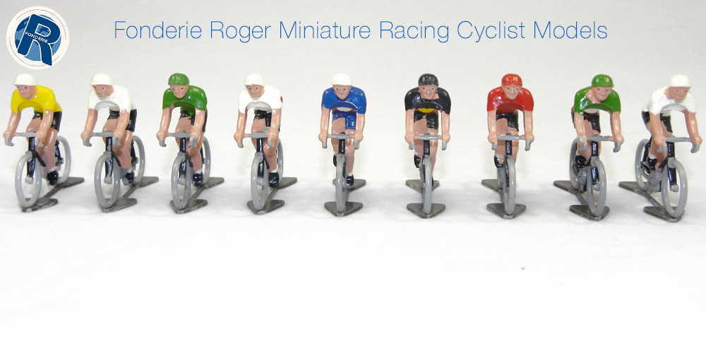 Fonderie Roger Miniature Racing Cyclist Models