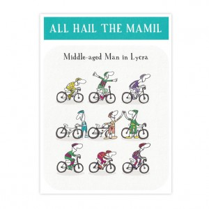 All Hail The MAMIL Bicycle Greeting Card (Copy)