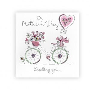 Mother's Day Bicycle Greeting Card