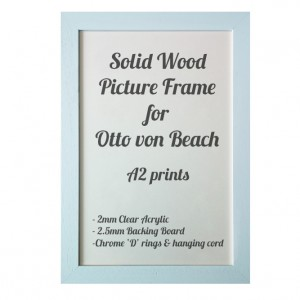 Black Picture Frame for A2 prints