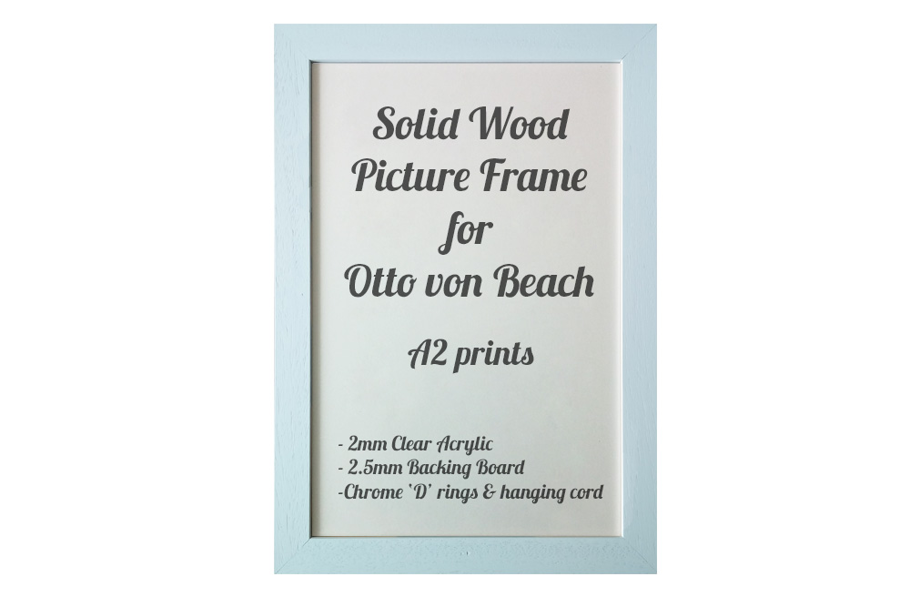 White Picture Frame for A2 prints