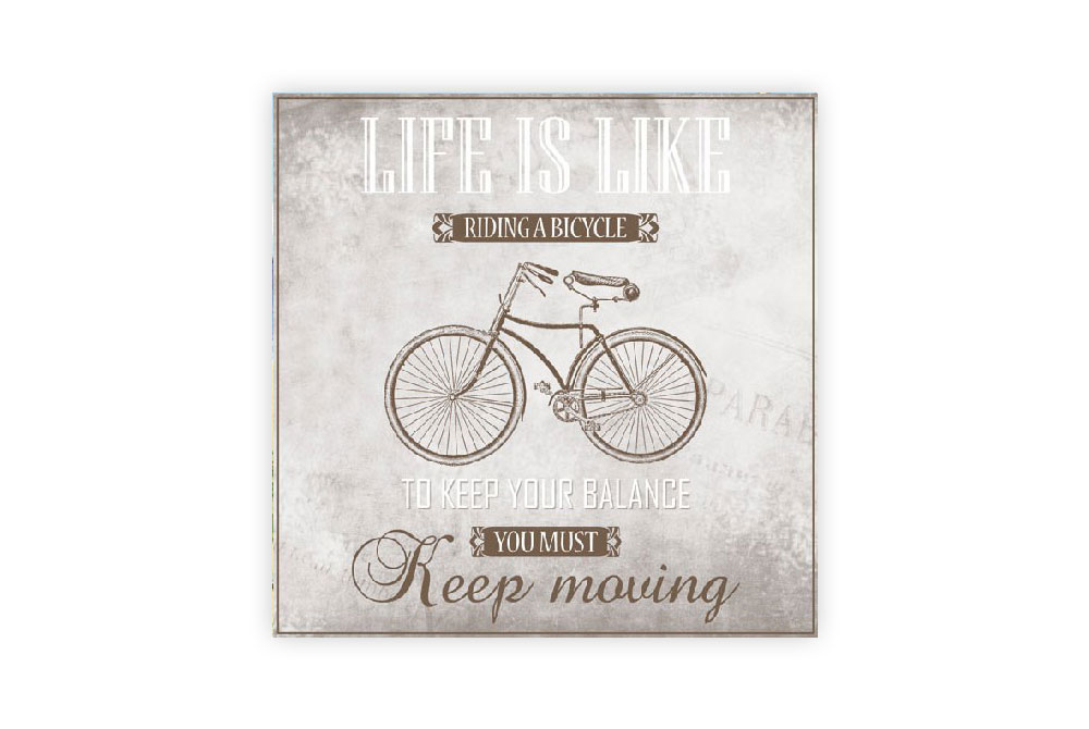 Riding a Bicycle Napkins