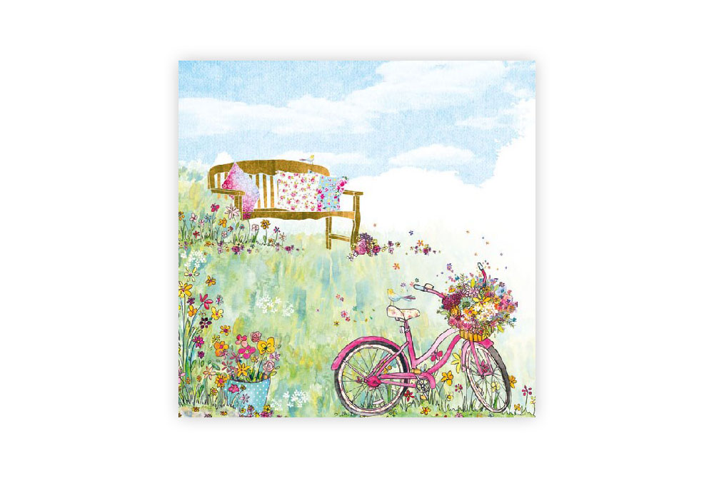 Spring Flowers Bicycle Napkins
