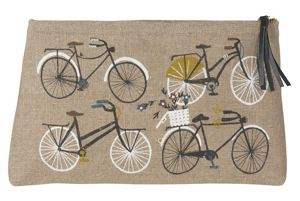Danica Bicicletta Large Cosmetic Bag