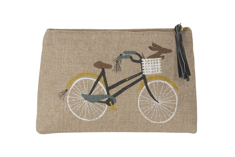 Danica Bicicletta Small Cosmetic Bag