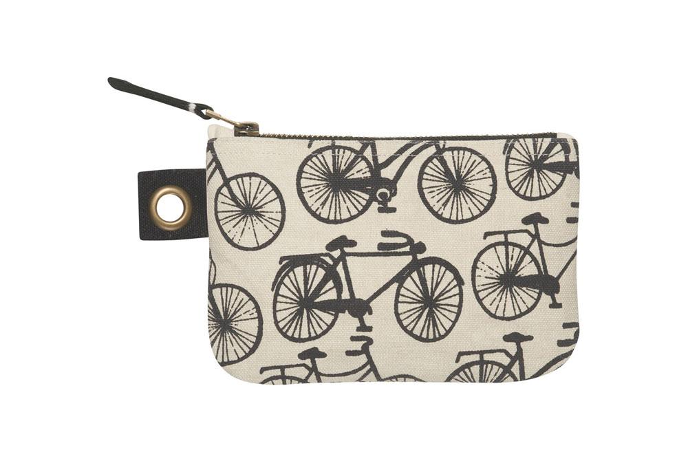 Danica Bicicletta Small Zipper Pouch