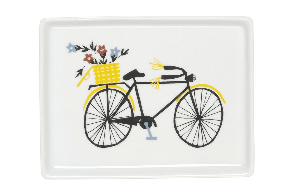 Danica Bicicletta Porcelain Tray