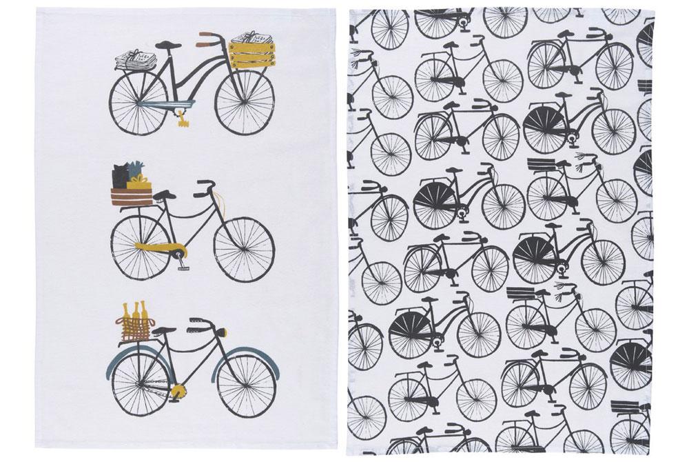 Danica Bicicletta Tea Towel Pack of 2