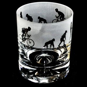 Evolution Cyclist Glass Tumbler