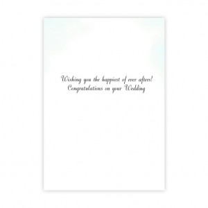 Wedding Bicycle Greeting Card