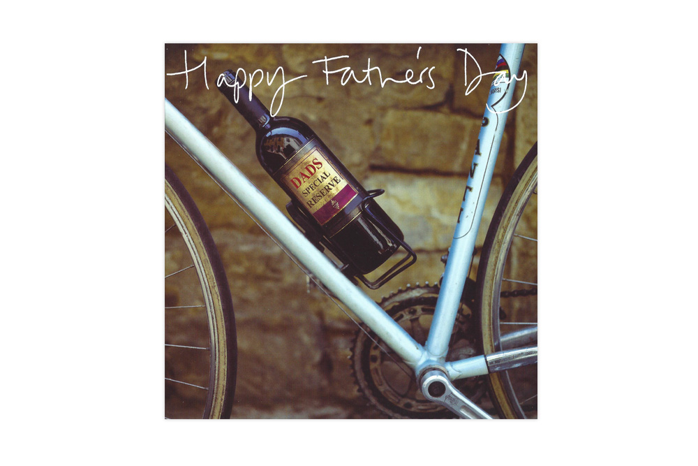 Happy Father's Day Bicycle Greeting Card