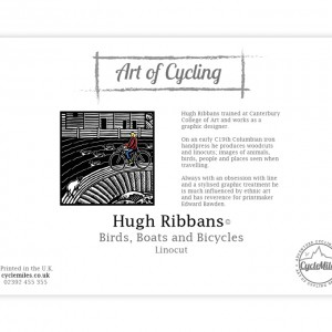 Birds, Boats and Bicycles Greeting Card by Hugh Ribbans