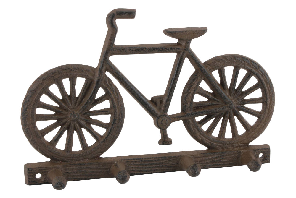 Cast Iron Bicycle Wall Hooks