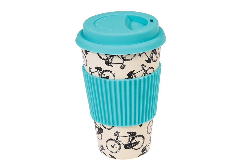 Bicycle Riders Travel Mug