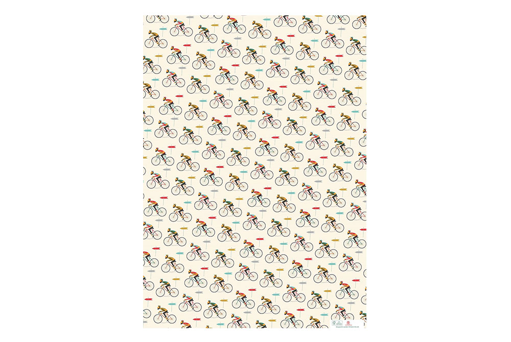 Le Bicycle Wrapping Paper