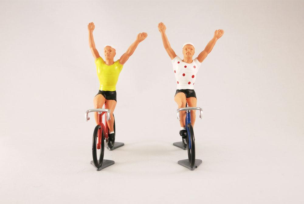 Fonderie Roger Vintage Model Racing Cyclist – Vainqueur – Tour de France