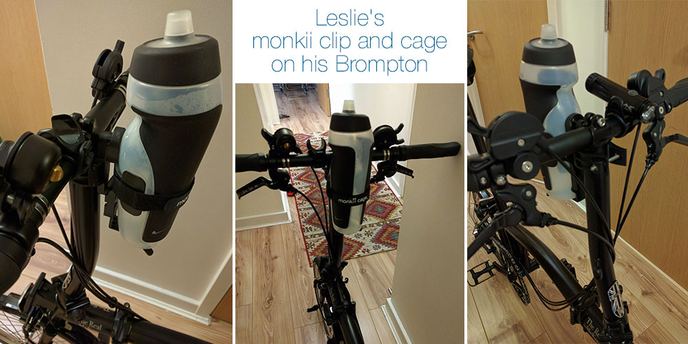 Brompton Bottle Cage – That will be a monkii