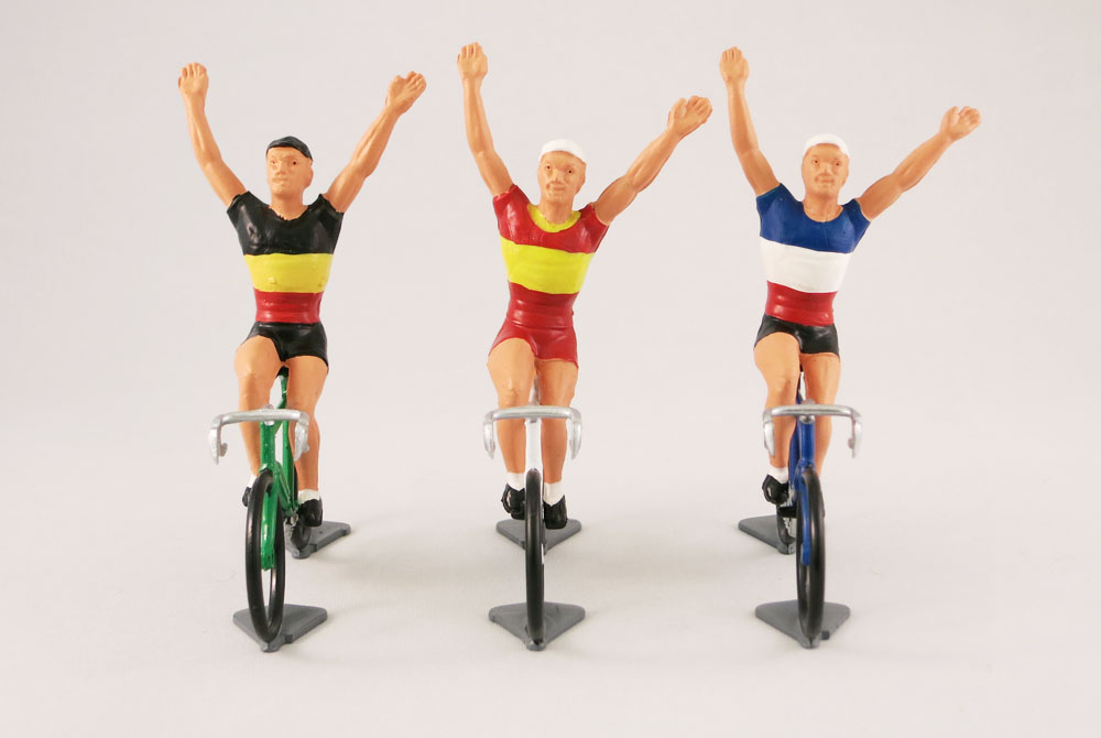 Fonderie Roger Vintage Model Racing Cyclist – Vainqueur – National Teams