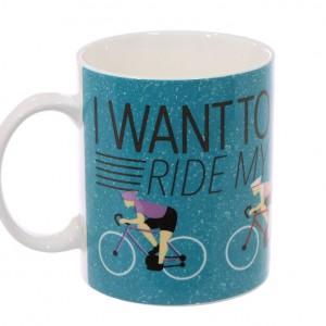 I want to Ride my Bicycle Mug