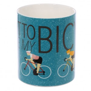 I want to Ride my Bicycle Mug