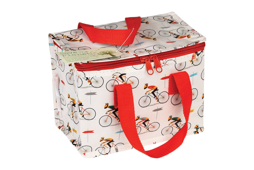 Le Bicycle Foil Lined Lunch Bag