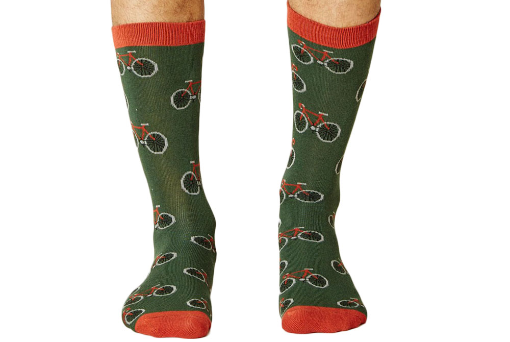 Men's Bamboo Bicycle Socks – Forest