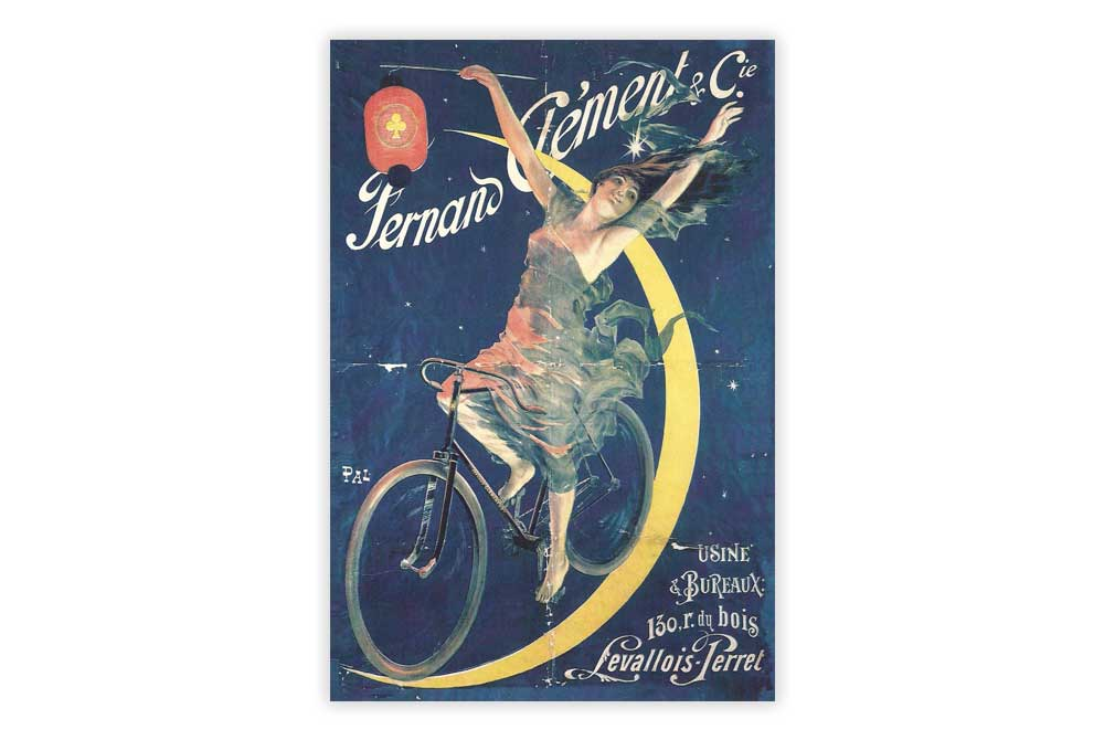 Fernand Clement Bicycle Postcard
