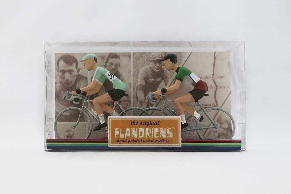 Flandriens Model Racing Cyclists – Bianchi and Italy