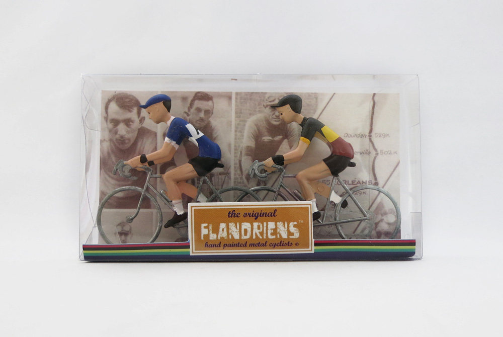 Flandriens Model Racing Cyclists – Fiat and Belgium National Champion