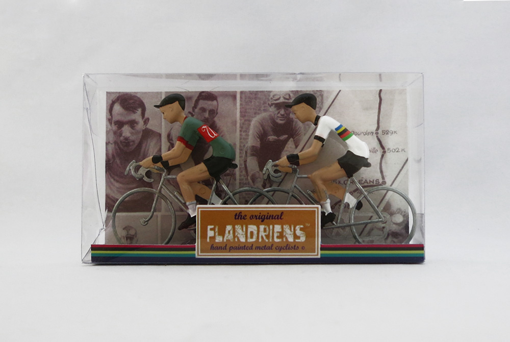 Flandriens Model Racing Cyclists – Wiels and World Road Race Champion