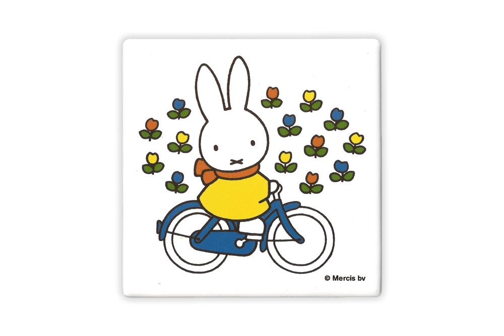 Miffy Ceramic Bicycle Coaster