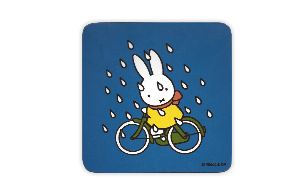 Miffy Bicycle Coaster