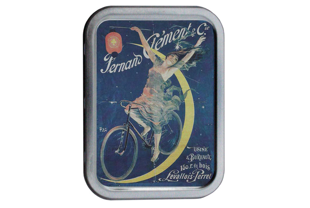 Fernand Clement Vintage Bicycle Tin