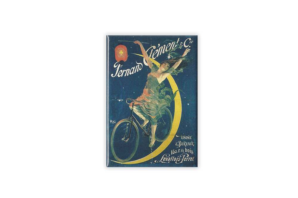 Fernand Clement Bicycle Fridge Magnet